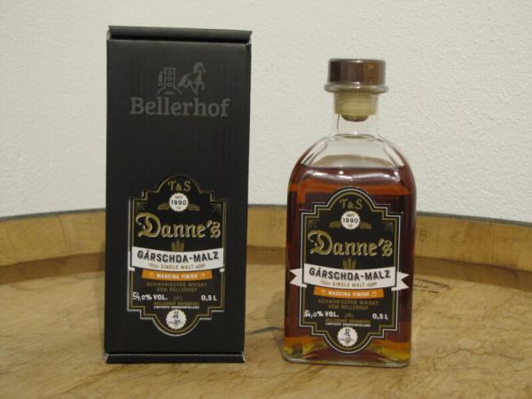 Danne's - Gärschda-Malz Madeira Finisch - Fassstärke 54,0% Vol.