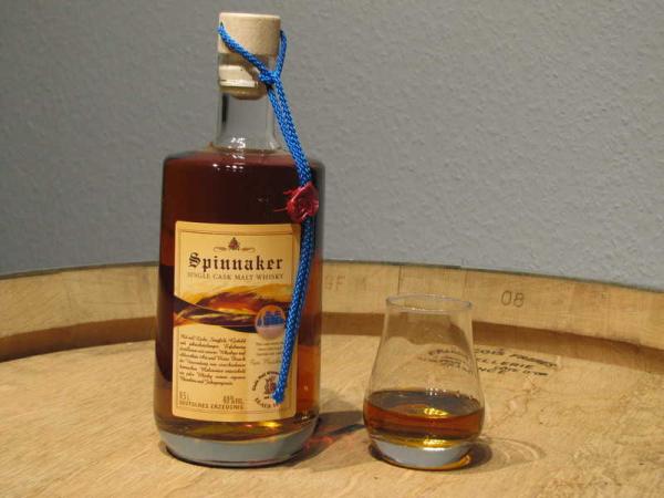 Spinnaker - der Whisky - für den segeltörn!