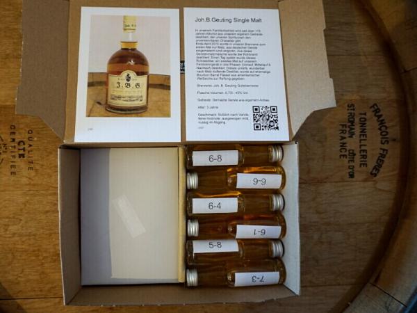 1.Tasting für Zuhause - Wählen Sie Ihre Whiskys