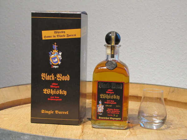 Black-Wood Wheat Whisky