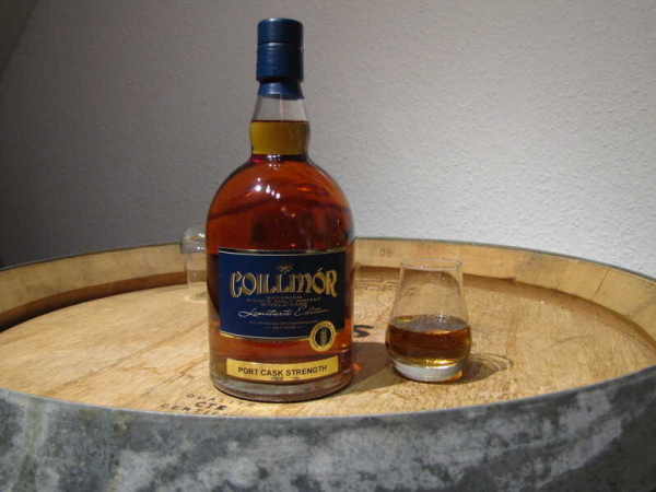 Coillmór Single Malt Port-Cask-Strength -