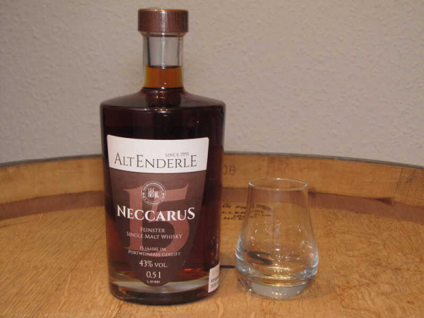 Neccarus Single Malt 15 Jährig Port Finish