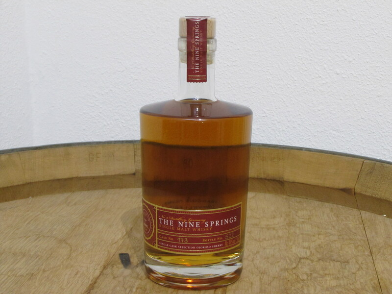 The Nine Springs Single Cask Selection - Oloroso Sherry
